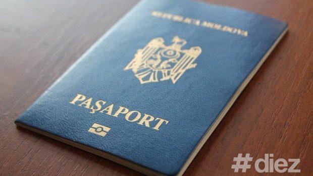 O tânără traversa frontiera cu un pașaport, iar peste hotare se legitima cu altul străin
