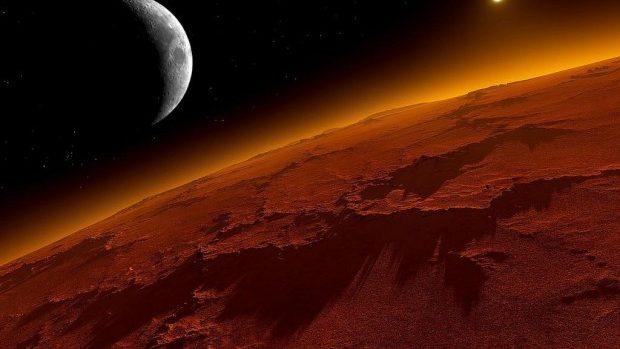 Există ninsoare în spaţiu? Cel mai bine studiat exemplu de ninsoare extraterestră a avut loc pe Marte