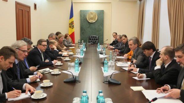 Iurie Leancă s-a întâlnit cu ambasadorii UE și SUA, acreditați la Chișinău