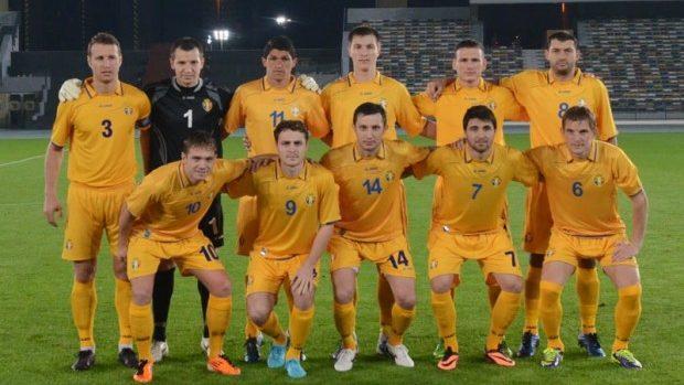 Moldova își menține poziția 96 în ierarhia FIFA