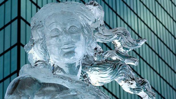 În centrul Capitalei va avea loc o expoziţie cu figuri de gheaţă