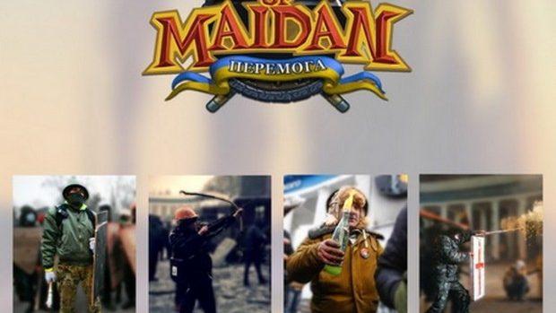 (foto) Age of Maidan: Persoanele din Kiev transformate în personaje