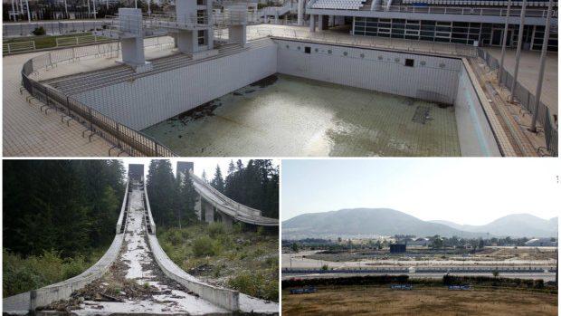 (foto) Arenele Jocurilor Olimpice devenite ruine în timp