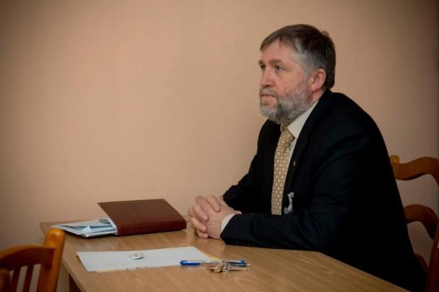 """Grigore Vasilache, directorul Liceului """"Mircea Eliade"""" PC: Facebook"""