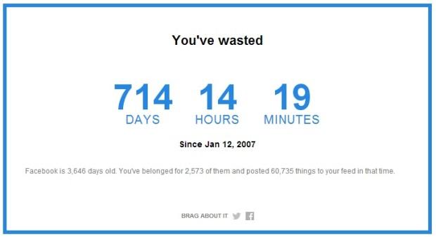 (calculator) Cât timp ai pierdut pe Facebook din momentul înregistrării?