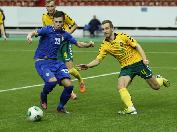 Moldova U-21 vs Lituania U-21 la Cupa CSI. PC: com-cup.com