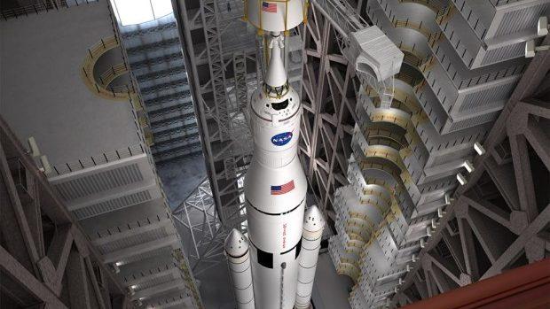 (foto) NASA a anunţat construirea celei mai mari rachete de pe Terra