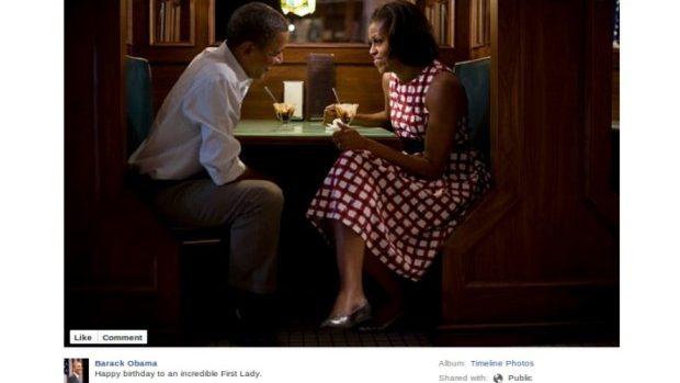 Declarația de dragoste virală făcută de Barack Obama soției sale