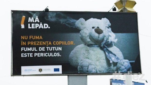 (foto) Ce fel de publicitate socială putem vedea pe străzile Chișinăului (partea I)