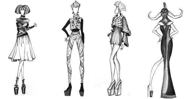 Desen realizat de Cristina Lupu PC: arhiva personală