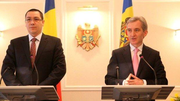 Victor Ponta: Guvernul României va sprijini Moldova în cursul integrării europene