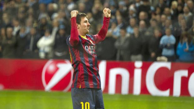 Rezultate Champions League 18.02.14: Manchester City 0 – 2 Barcelona