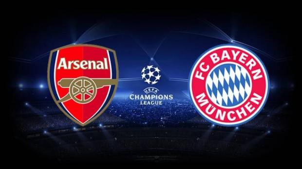 1/8 de finală UCL: Urmărește în direct Arsenal – Bayern München