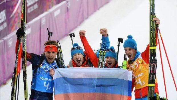 Cu o zi înaintea sfârștitului JO 2014, Rusia trece pe 1-ul loc în clasament