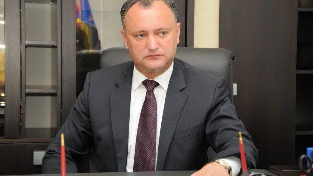 Igor Dodon spune că protestatarii de pe Maidan sunt teroriști