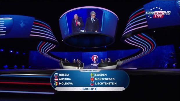 Moldova și Rusia în aceeași grupă preliminară pentru Euro 2016
