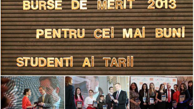 (foto) 50 cei mai buni studenți ai anului 2013 au primit Burse de Merit