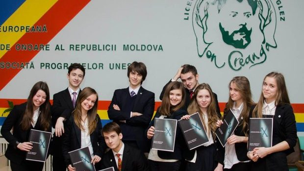 """Elevii liceului """"Ion Creangă"""" au fost selectați să participe la un proiect ecologic"""