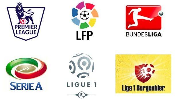 Lupta pentru titlu din campionatele europene de fotbal continuă