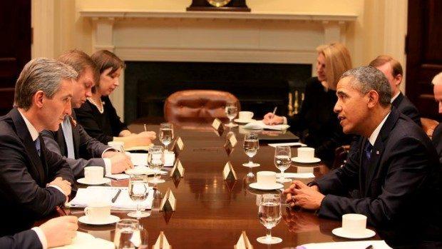 Barack Obama către Iurie Leancă: Inima mea este cu voi, vreau să vă văd reușind