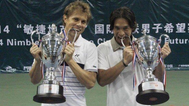 Radu Albot a câștigat proba de dublu la ITF Guangzhou, China