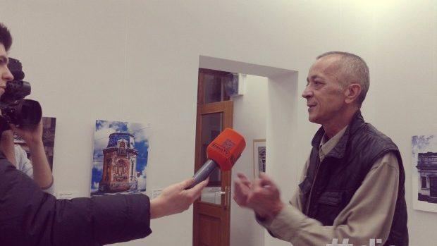 """(foto) Sergiu Plămădeală aduce """"Kilometrul 0"""" la Chișinău"""
