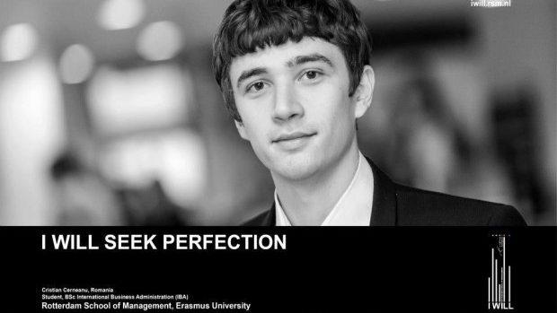 Cristian Cerneanu – de la un simplu student, la asistent universitar în Rotterdam