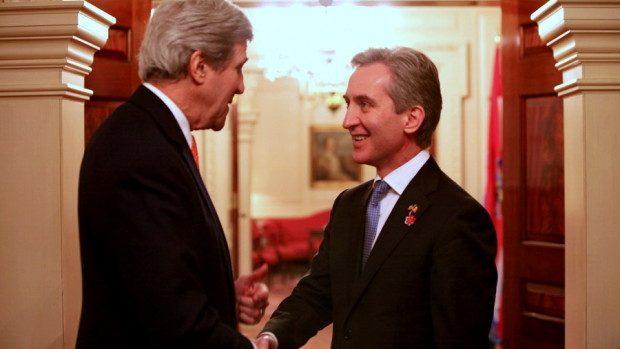 John Kerry și Iurie Leancă au lansat Dialogul Strategic moldo-american
