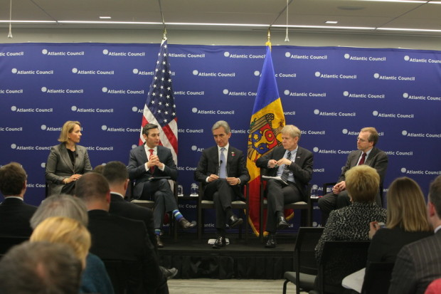 Iurie Leancă la consiliul Atlantic, PC: gov.md