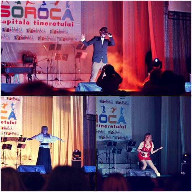 Interpreții autohtoni au cântat la Gala de inaugurare a Capitalei Tineretului 2014. PC: Lilian Muntean