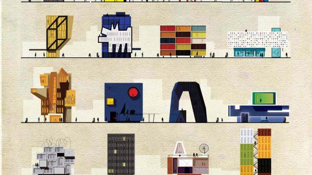 (foto) Cum ar arăta creațiile pictorilor dacă aceștia erau arhitecți?