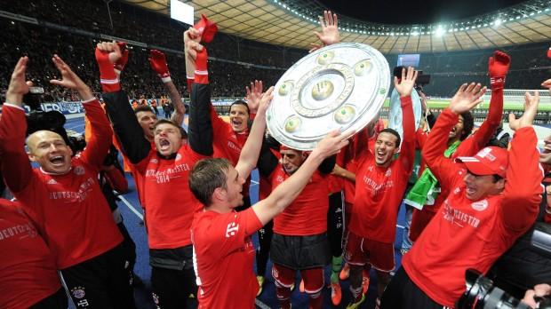 (foto) Cum a sărbătorit Bayern München al 24-lea titlu de Bundesliga