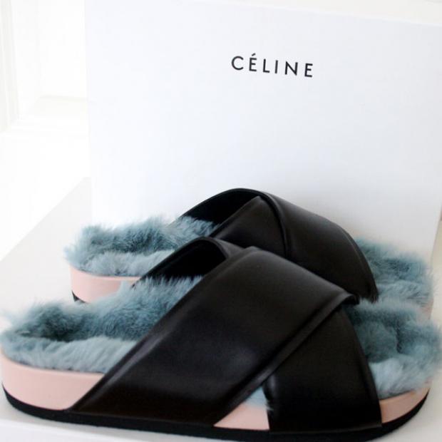 Celine, primăvară -vară 2014 PC: chicityfashion.com