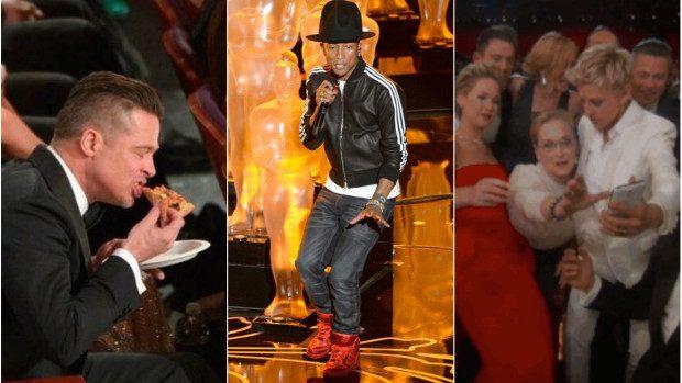 (foto,video) Trei momente memorabile de la premiile Oscar 2014