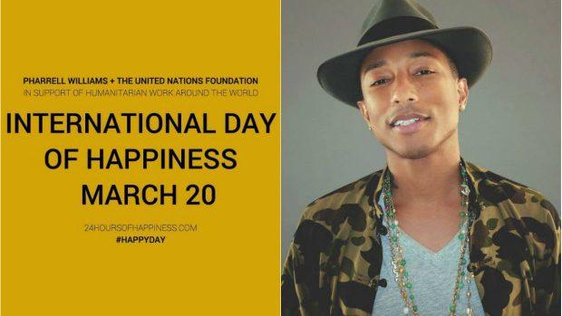 """20 martie – Ziua Internațională a Fericirii pe ritmuri de """"Happy"""""""