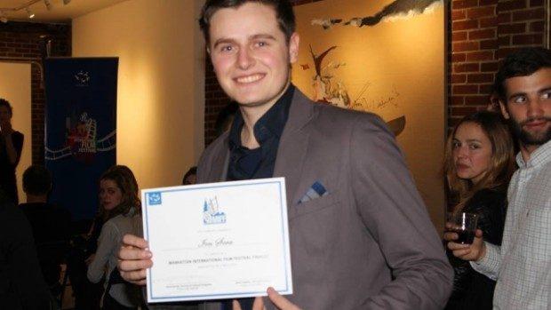 Ion Șova a primit mențiune de onoare la Festivalul Internațional de Film din Manhattan