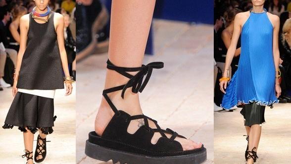 (foto) Noua frumusețe feminină se poartă cu încălțări urâte