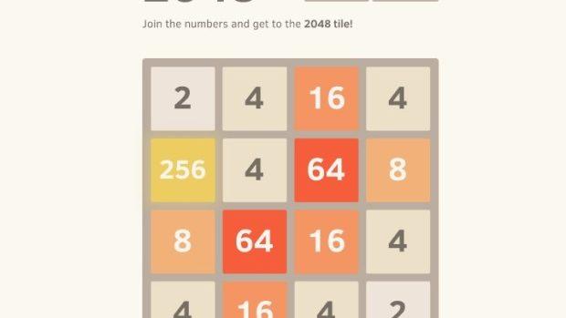 2048 – jocul de logică care creează dependență