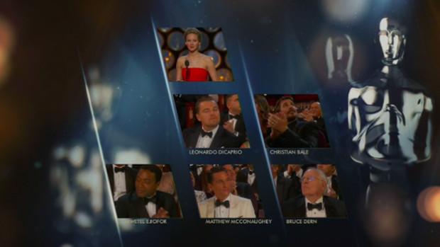 Fața lui Leonardo DiCaprio când Jennifer Lawrence anunță că nu el a câștigat Oscarul în 2014 PC: buzzfeed