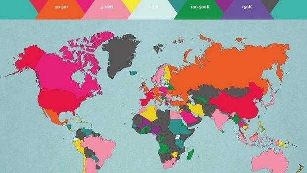 Moldova este pe locul 162 în topul celor mai vizitate țări din lume