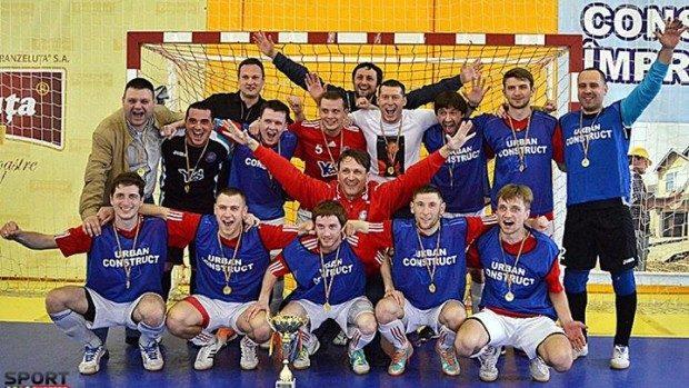 JLC Chișinău a câștigat primul titlu de campioană la futsal