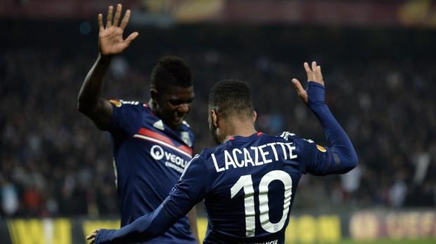 Europa League, 1/4 de finală, tur: Olympique Lyon – Juventus