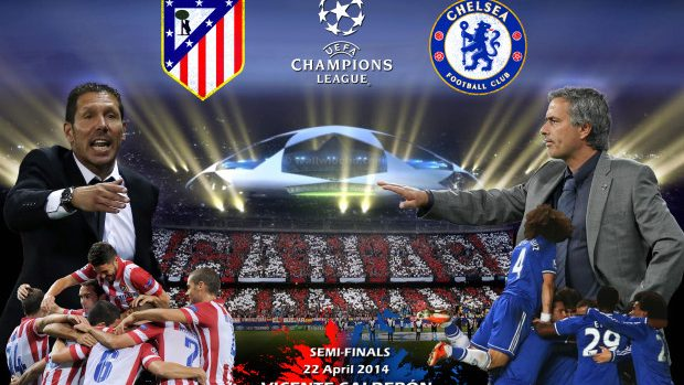 Semifinalele Champions League: Atlético Madrid – Chelsea