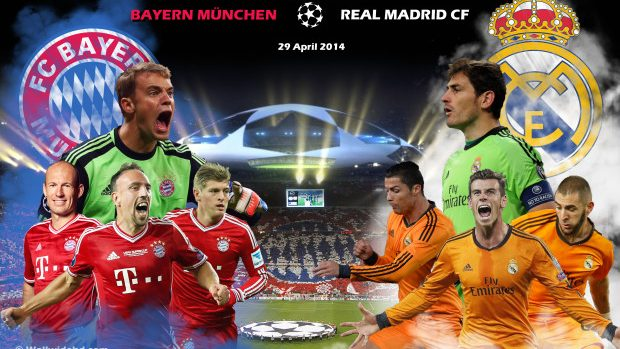 Semifinale Champions League, retur: Bayern München – Real Madrid