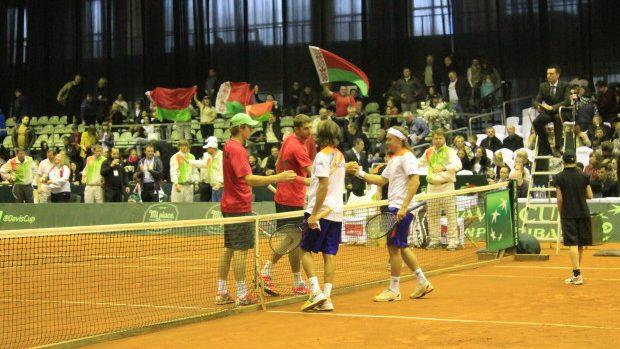 (foto) Cupa Davis: Partida de dublu a stabilit scorul general Moldova 2 – 1 Belarus
