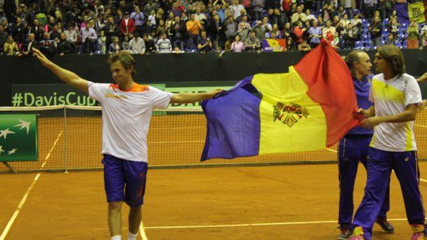 Cupa Davis: Radu Albot a adus victoria Moldovei împotriva Belarusului