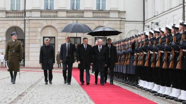 Nicolae Timofti: Polonia ne este un puternic susţinător şi un foarte bun prieten