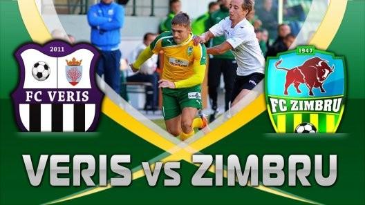 Divizia Națională, etapa 28: Veris – Zimbru