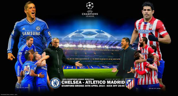 Semifinale Champions League, retur: Chelsea – Atlético Madrid