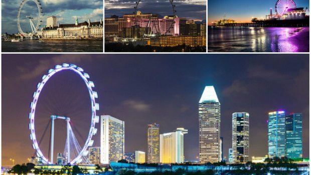 (foto) Top 10 cele mai tari roți panoramice din lume pe ca să le încerci